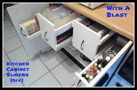 Diy Kitchen Cabinet Organizers Kitchen Cabinet Sliders Diy
