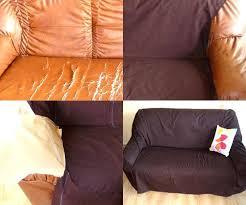 recouvrir canapé tissu pour canap en cuir 10 avec couturetissus et recouvrir un canape du