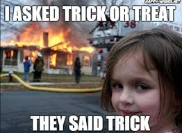 Meme Source - 7 funny trick or treat memes to post on facebook twitter