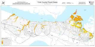 Hurricane Map Flood Zone U0026 Hurricane Storm Surge Maps York County Va