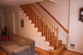 Oak Stair Banister Yeager Woodworking Staircase And Railings