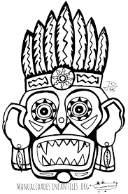 imagenes mayas para imprimir dibujos para colorear de niños mayas ideas creativas sobre colorear
