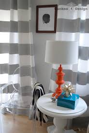 interior design charming horizontal striped curtains for interior