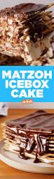 best matzo icebox cake video how to make matzo icebox cake