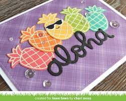 the lawn fawn blog lawn fawn video 6 28 17 a rainbow aloha by