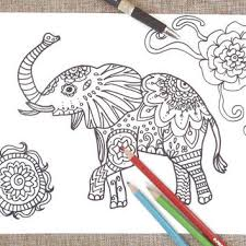 coloring pages print products wanelo