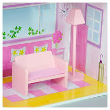 teamson kids fancy mansion doll house with 13pcs furniture target