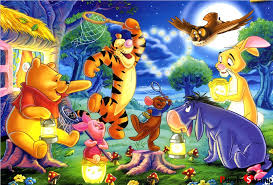 model kit jigsaw puzzle pooh and firefly play jigsaw puzzles