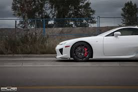 lexus lfa james edition featured fitment lexus lfa with pur rs04 forged wheels