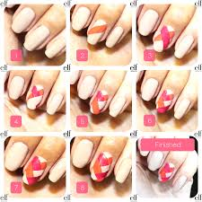 stunning easy nail designs at home step by step contemporary