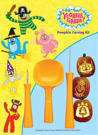 Pumpkin Carving Kits Yo Gabba Gabba Pumpkin Carving Kit