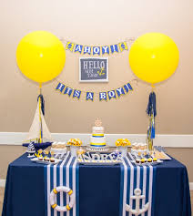 nautical baby shower theme with love the day printables
