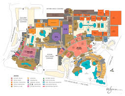 wynn casino property map floor plans las vegas full size map