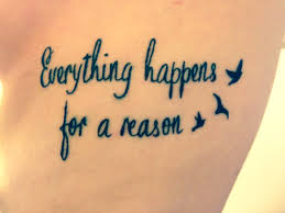 quote thigh tattoos best 25 everything happens for a reason tattoo symbol ideas on