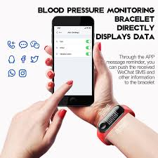 blood pressure bracelet iphone images Mafam m3x smart bracelet blood pressure fitness tracker ip67 jpg