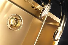 Brass Kitchen Sink Sink Light Faucet Alveus Monarch Quadrix - Brass kitchen sink