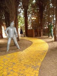 follow the yellow brick road picture of sundown adventureland