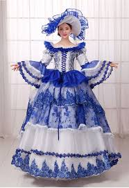 aliexpress com buy blue with white royal gown vintage women