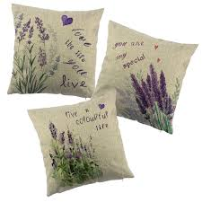 cover for chair aliexpress buy lavender printed cushion cover for chair