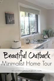 Minimalist Home Tour by Beautiful Outback Minimalist Home Tour Francesca Nourishing