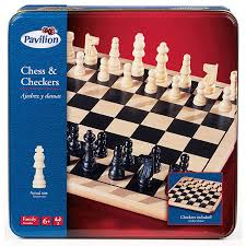 Massachusetts travel chess set images Pavilion wood chess and ckeckers in tin toys r us australia jpg