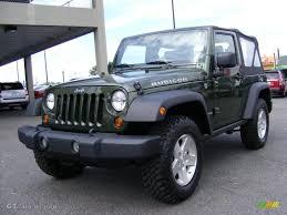 2009 jeep wrangler rubicon 2009 jeep green metallic jeep wrangler rubicon 4x4 37282794