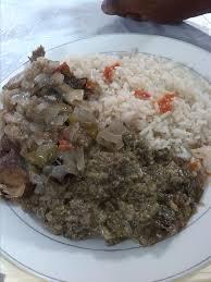cuisine avec du riz file point noir moambé avec riz et malwa jpg wikimedia commons