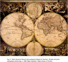 Double Map Fig 5 Orbis Terranum Nova Et Accuratissima Tabula N Visscher