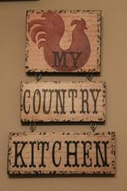 Rooster Decor For The Kitchen Antique Country Farmhouse Door Panel Folk Art Kitchen Sign Chicken