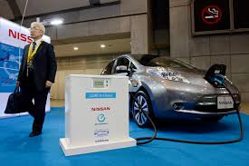 nissan leaf zero emission nissan set to double leaf sales ghosn the japan times