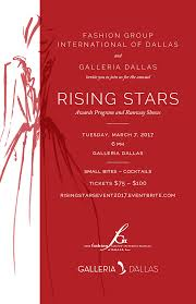Dallas Galleria Map Fgi Dallas Rising Star Awards 2017 Tickets Tue Mar 7 2017 At 6