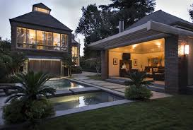 backyard ideas with pool exterior overflowing backyard pool and spa for luxury backyard