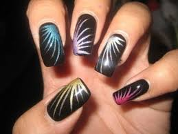 aqua swirls drag marble nail art tutorial youtube nail designs