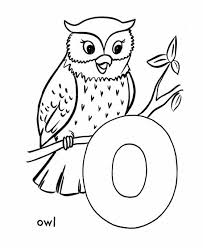 owl coloring pages owl alphabet coloring pages animal owl