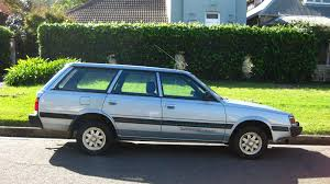 old subaru wagon aussie old parked cars 1994 subaru l series 4wd sportswagon