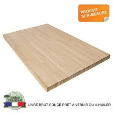 plan de travail cuisine grande largeur plan de travail bois du massif pour vos projets bois