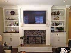 Fireplace Bookshelves by Built In Bookcases Around Fireplace Grey And White Built In