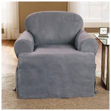 T Cushion Sofa Slip Cover Microsuede T Cushion Furniture Cover 228882 Furniture Covers At