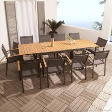 fabriquer une table pliante emejing table de jardin metal et bois pictures amazing house
