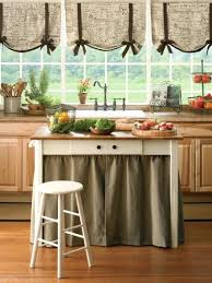 Tie Up Curtain Shade Tie Up Curtains Tie Up Tie Up Shades In The Kitchen I Used Organza