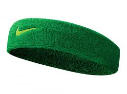 green headband nike swoosh headband tennis sweatband sports running