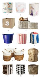 Canvas Storage Bins 13 Cute Storage Bins Organizing Basket Storage And Toy