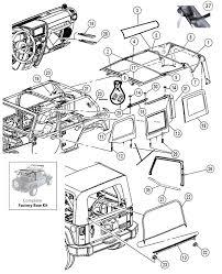 jeep mopar parts wrangler top hardware by mopar jeep 4x4