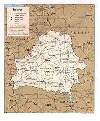 map of belarus maps of belarus