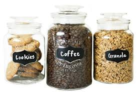kitchen canisters and jars canisters and jars amazon com
