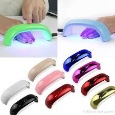 ultraviolet light therapy machine best mini nail dryer rainbow shape led light therapy machine nail