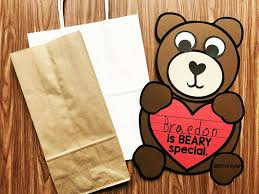 Teddy Bear Crafts For Kids Beary Special Valentines Day Craft Simply Kinder
