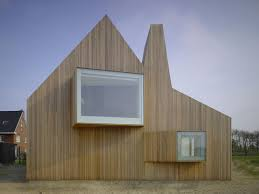 innovative creation of modern house design from gable roof style