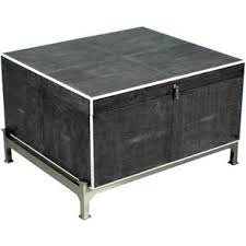 hepburn lift top side end table leather faux leather coffee tables you ll love wayfair
