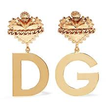clip on earrings s dolce gabbana gold plated clip earrings 475 liked on